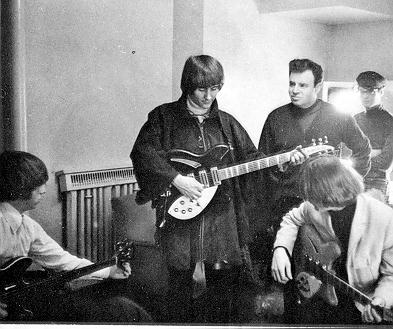 Art Roberts with The Byrds