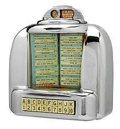 60s Fad - Booth Jukebox