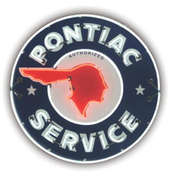 Chief Pontiac Service Center Logo