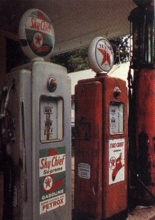 Route 66 - Texaco Gas Pumps