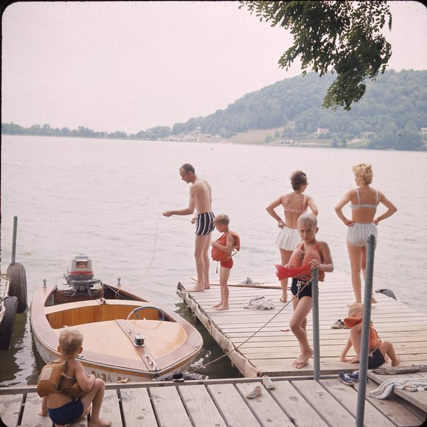 Lake White in the 1960s