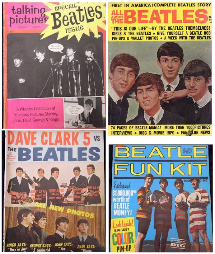 1960s - Beatles Magazines