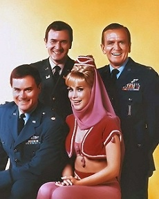 The Cast of I Dream of Jeannie